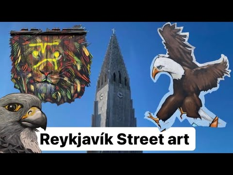 Reykjavik's beautiful street art - Iceland
