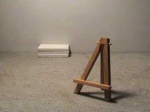 staffelei leinwand doovi. Black Bedroom Furniture Sets. Home Design Ideas