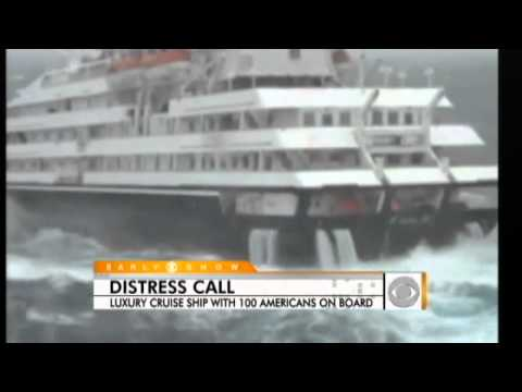 Luxury Ship Loses Power in Antarctic