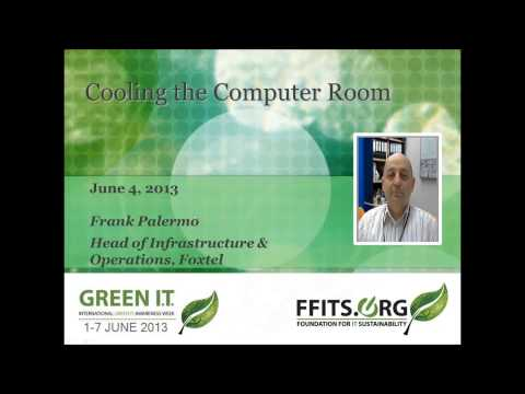 Cooling the Computer Room - Frank Palermo