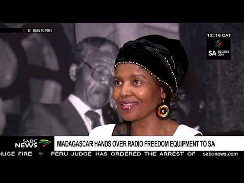 Madagascar hands over Radio Freedom Equipment to SA