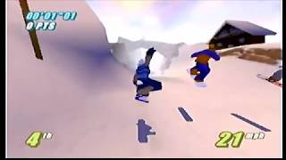Twisted Edge Extreme Snowboarding | Part 14: Ganz [N64]