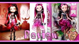 Review de brinquedos - BONECA EVER AFTER HIGH REBEL - RAVEN QUEEN - MATTEL