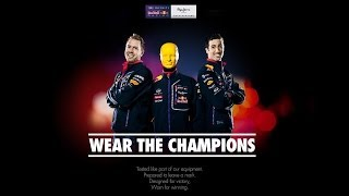 Wear the champions, Pepe Jeans Infiniti Red Bull Racing with F1™ drivers Vettel and Ricciardo