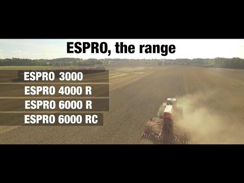 KUHN ESPRO 3000 / 4000 R / 6000 R / 6000 RC Range - (in action)