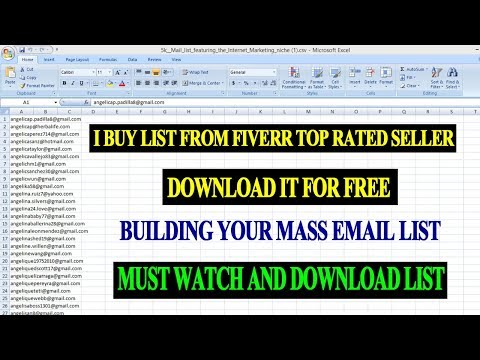 Get 5000 email address list free - collect Usa,uk internet marketing niche email mailing list