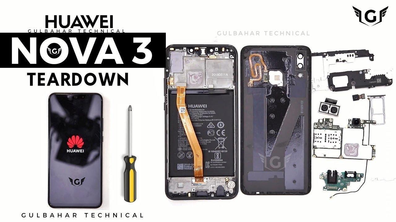 Huawei Nova 3 Teardown