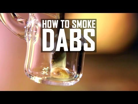 How To Smoke Shatter, Dabs & Wax : Cannabasics #100
