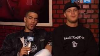 Bushido, Saad & Bass Sultan Hengzt im Interview at GoTv 2oo5