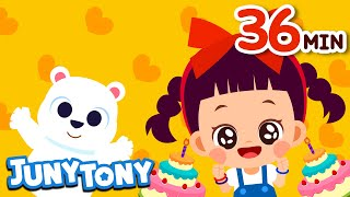 Happy Birthday Song And 25 Songs Nursery Rhymes And Kids Songs Juny Tony By KizCastle