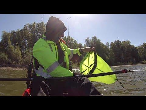 How to use a Drift Bag / Drift Sock Kayak