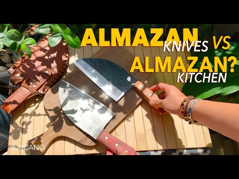 ALMAZAN KNIVES VS. ALMAZAN KITCHEN KNIFE REVIEW