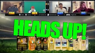 EPIC FIFA 15 HEADS UP PACK OPENING!!! HILARIOUS W/ AJ3FIFA, NICK28T & ITANI!!