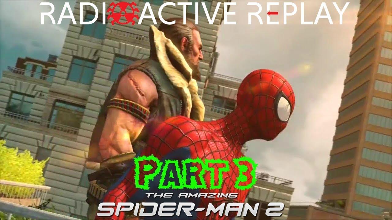 radioactive replay - the amazing spider-man 2 part 2 intro - youtube
