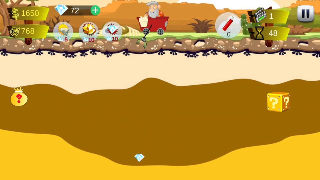 gold mining games - 1280×720