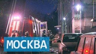 Пожар в общежитии МАИ: пострадали шесть человек(В Москве этой ночью горело общежитие Московского авиационного института. Пожар произошел на третьем этаже..., 2016-04-21T06:57:47.000Z)