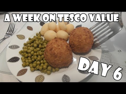 A Week On Tesco Value DAY 6