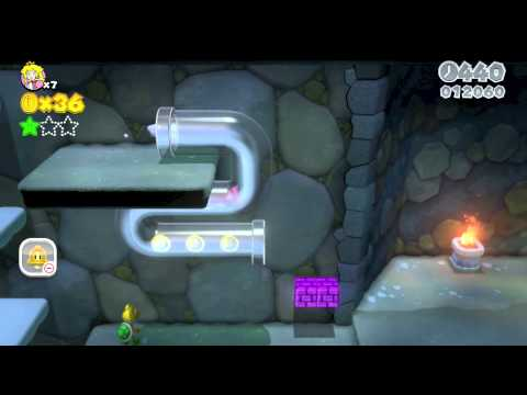 """Super Mario 3D World - Ep. 1 """"Peach, Pipes, and Powerups"""""""