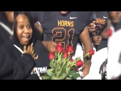 Willie Moore Jr. - WATCH! High school football coach pulls off sweet proposal