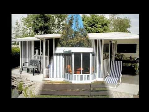 camping vorzelt schutzdach wohnwagen wohnmobile youtube. Black Bedroom Furniture Sets. Home Design Ideas