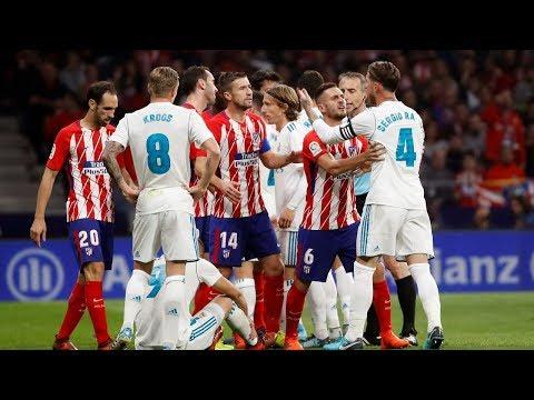 Atletico 0-0 Real Madrid | Resumen Highlights | Liga 2017/2018