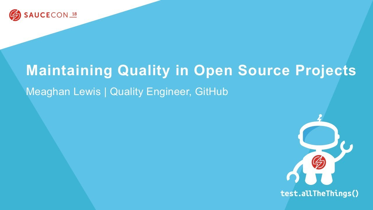 maintaining quality in open