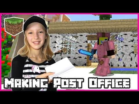 Making A Post Office / Minecraft