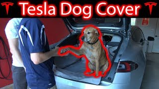 Tesla Dog Cover! Does it Work?!