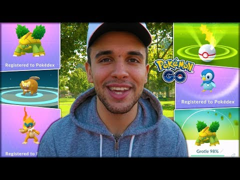 EVOLVING NEW GENERATION 4 POKÉMON! (Pokémon GO)