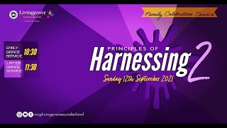 Early Grace Service    PRINCIPLES OF HARNESSING 2