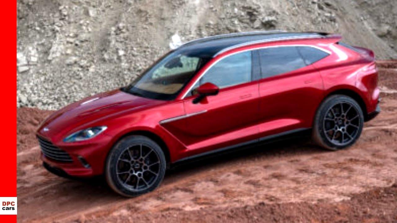 2021 Aston Martin Dbx Suv Unveiling Youtube