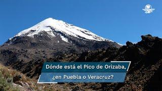 El volcán inactivo se encuentra entre los estados de Puebla y Veracruz, pero el INEGI determinó que la mayor parte de esta elevación está en el primero