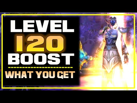 WoW Level 120 BOOST: What Do You Get? WoW: Shadowlands Pre-Order Bonus