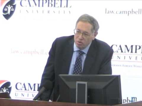 Legal scholar Richard Epstein calls for fixed rules and formal boundaries