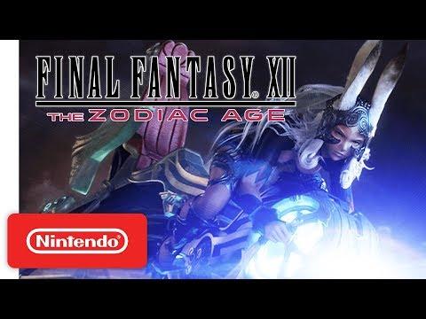 FINAL FANTASY XII THE ZODIAC AGE - Gameplay Trailer - Nintendo Switch