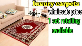 Fancy Dining table mat luxury designer cushion covers fancy and luxury floor carpets