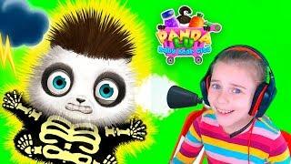 Малышка Панда Лу Смешное видео для детей Игры со зверюшками для малышей