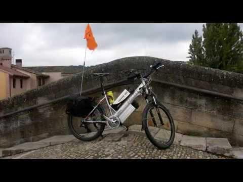 Camino de Santiago in Frisbee E-bike con Maurizio Vettorato & FRIENDS