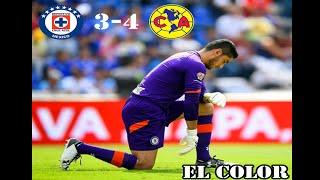 El Color del Clásico Joven  Cruz Azul VS America 3-4 Jornada 8 Apertura 2016