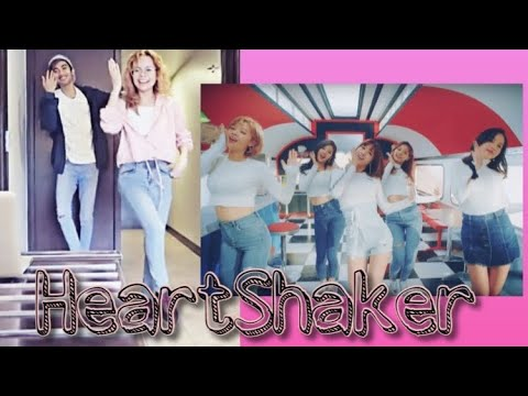 WE TRIED TO DANCE HEARTSHAKER !!