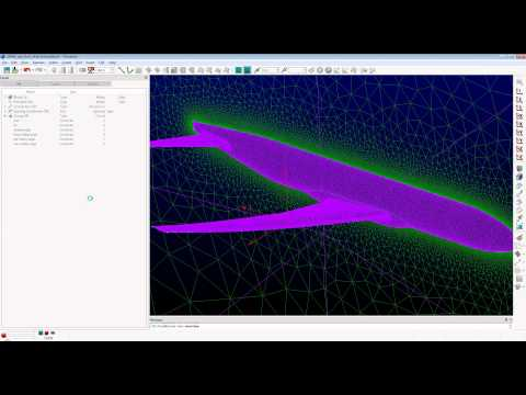 How T-Rex Unstructured Meshing Aids Transonic Aircraft Drag Reduction