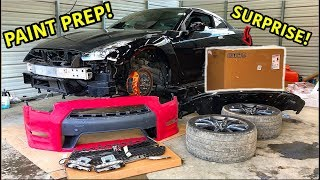 Download Rebuilding A Wrecked 2013 Nissan GTR Part 4 Mp3 and Videos