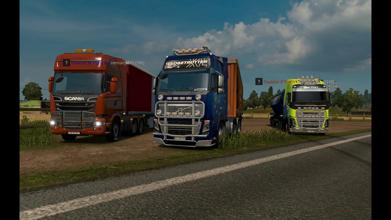 Multiplayer in Euro Truck 2 - how to start?