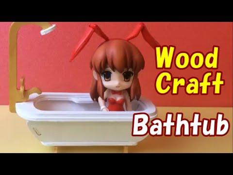 Wood Craft 100  yen shops in Japan Seria Bathtub