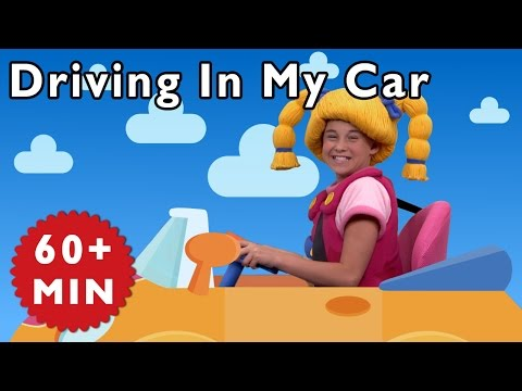 Driving in My Car and More | Nursery Rhymes from Mother Goose Club!