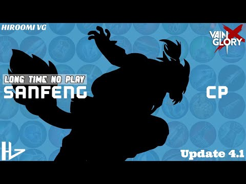 [VAINGLORY X]:Ranked 3v3 _ Update 4.1 _ #18: SANFENG CP