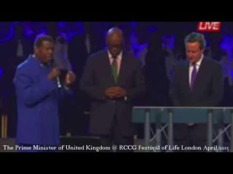 David Cameron: The Prime Minister of United Kingdom @ RCCG Festival of Life London April 2015