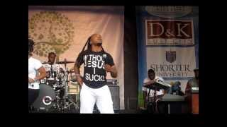 """Uncle Reece"" (Worship Until I Pass Out) @ Praise In The Park 2013"