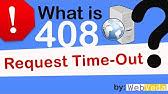 Problem at server 408 - YouTube