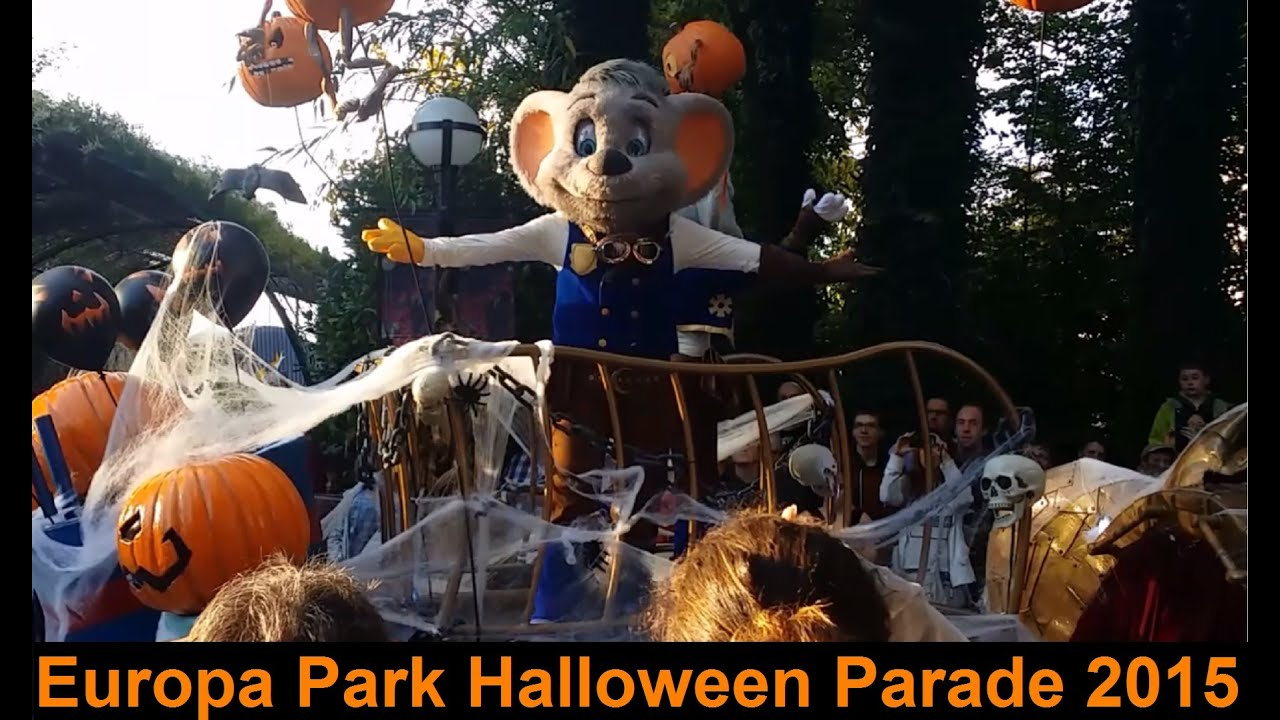 europa park halloween parade 2015 sans stop youtube. Black Bedroom Furniture Sets. Home Design Ideas